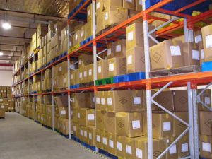 RFID label for warehouse management