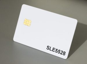 Sle5528 contact chip card