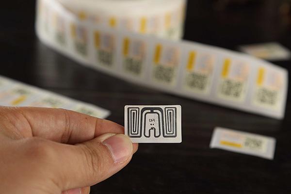 anti-fake rfid label